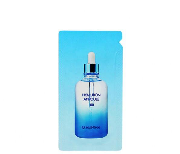 Ампульная сыворотка с гиалуроновой кислотой SeaNtree Hyaluron Ampoule 100 (пробник)