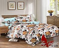 Комплект постельного белья S-139 семейный (TAG satin (sem)-139)