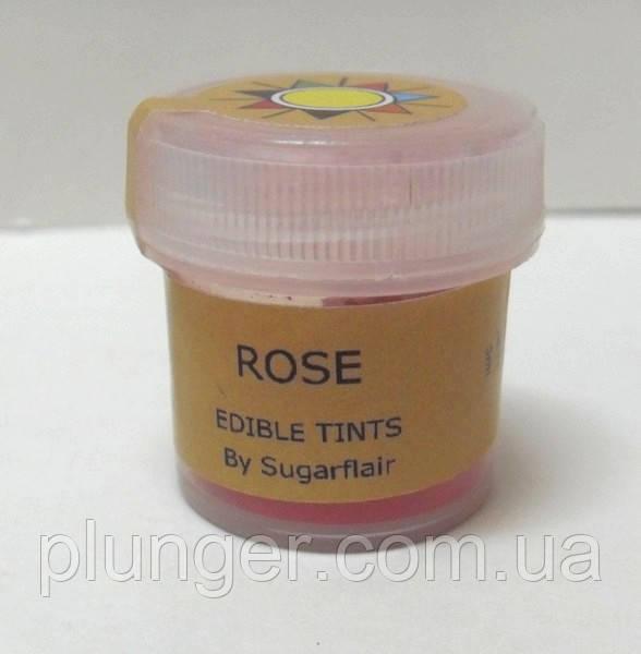 """Краситель пищевой сухой """"Роза"""" 5мл Sugarflair"""