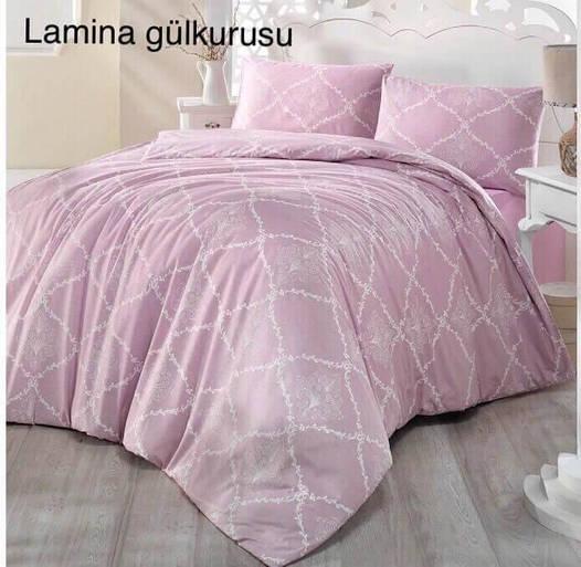 Полуторное постельное белье Altinbasak Lamina Gulkurusu Ранфорс
