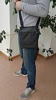Мужская сумка-планшет через плечо текстильная, фото 1