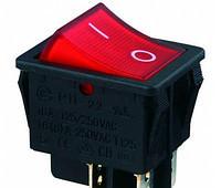 Клавишный переключатель КП-2-И 30А подсветка