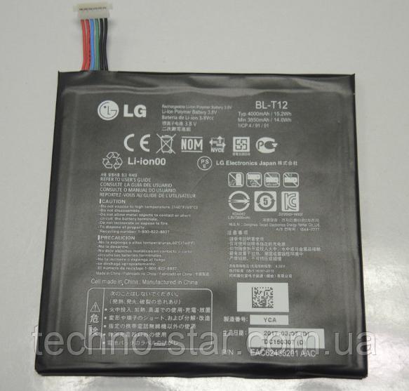 Оригинальный аккумулятор (АКБ, Батарея) BL-T12 для LG G Pad 7.0 V400 | V410 4000mAh