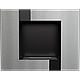 Биокамин QUAT черный куб, фото 4