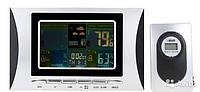 Метеостанция цифровая М-102 цветная индикация с выносным беспроводным наружным датчиком