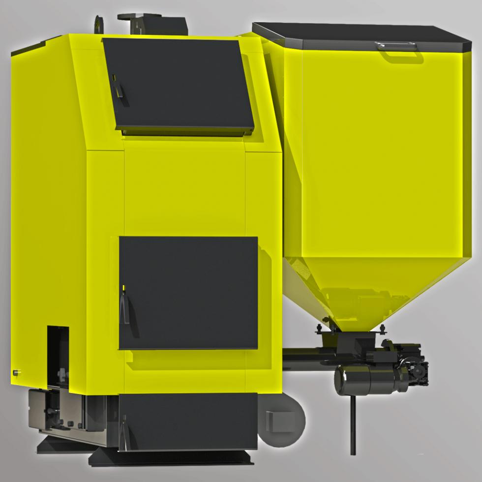 Котел твердотопливный промышленый  Kronas Prom Combi 300 кВт
