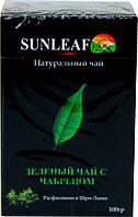 Чай Sun Leaf зелений з чебрецем,100 гр.