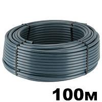 Труба многолетняя слепая д.16х1.0 мм для капельного полива бухта 100 м. DELTA