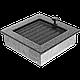 Решетка черно-серебряная 17*17 (крашеная) жалюзи, фото 3