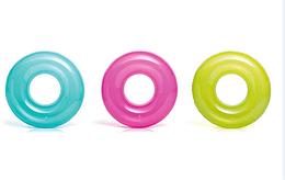Круг для детей однотонный. Плавательный круг. Надувной плавательный круг Intex.