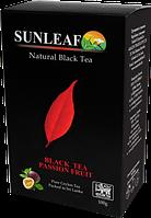 Чай Sun Leaf черный с маракуйей,100 гр.