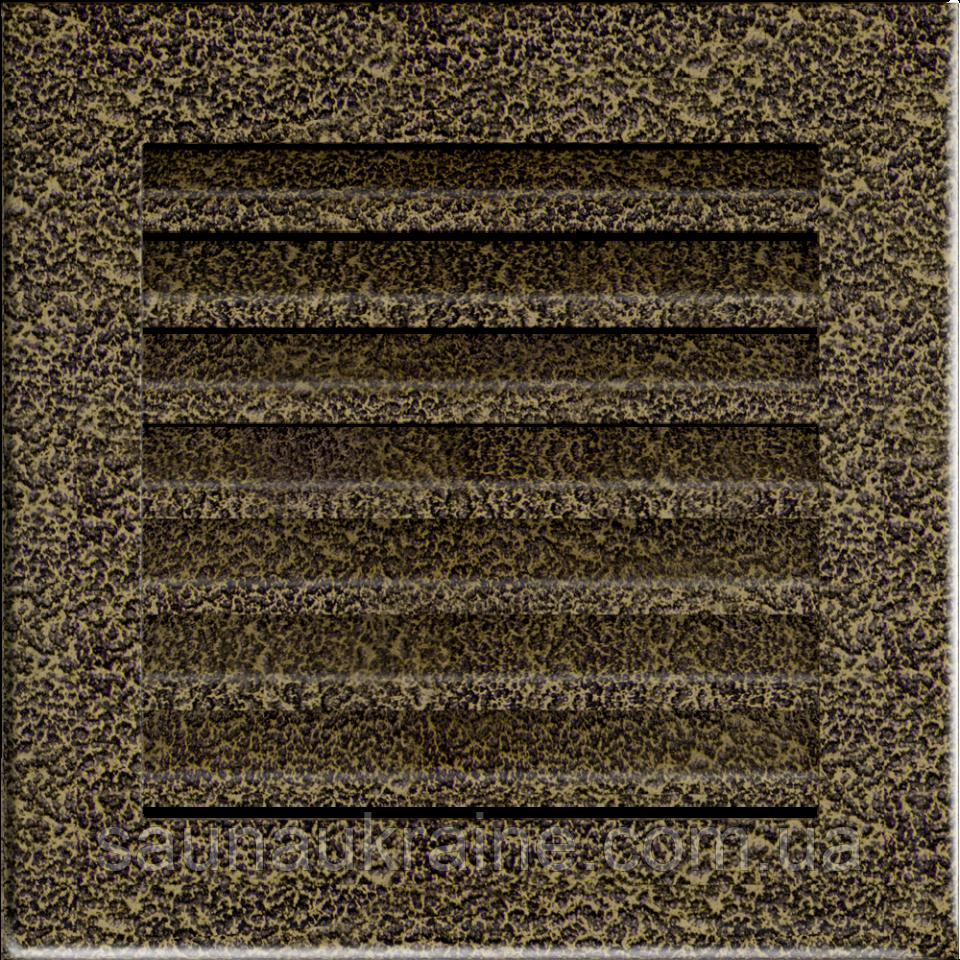 Решетка FRESH черно-золотая 17*17