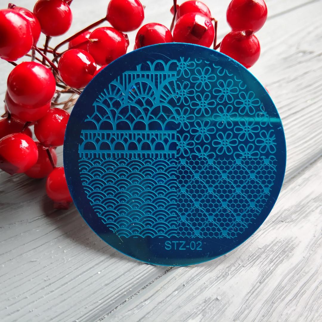 Пластина диск для стэмпинга stz 02