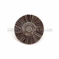 Щетка дисковая волосяная 22 мм (серая/средняя) 12779