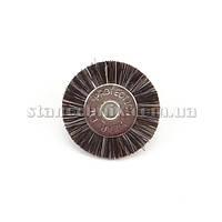 Щетка дисковая волосяная 19 мм (серая/средняя) 12778