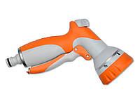 Пистолет-распылитель пластиковый, 6 регулируемых потоков, Verano (72-554)
