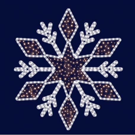 Снежинка светодиодная , фото 2