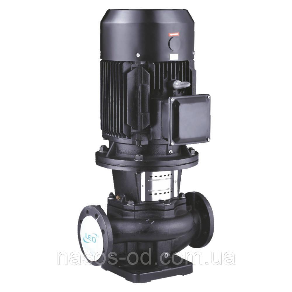 Насос центробежный поверхностный вертикальный Leo 380В 4.0кВт Hmax33м Qmax600л/мин