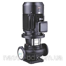 Насос центробежный поверхностный вертикальный Leo 380В 0.75кВт Hmax17м Qmax200л/мин