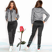 Женский Спортивный костюм  G 22390  Серый, фото 1