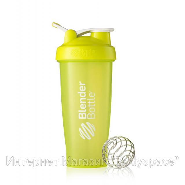 Blender Bottle, Спортивный шейкер BlenderBottle Classic Loop Green, 760 мл