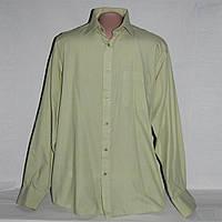 Рубашка мужская фисташковая Burton М, б/у воротник 39 см