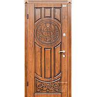Входные двери Prestige (АП-1) 209 Патина - дуб золото