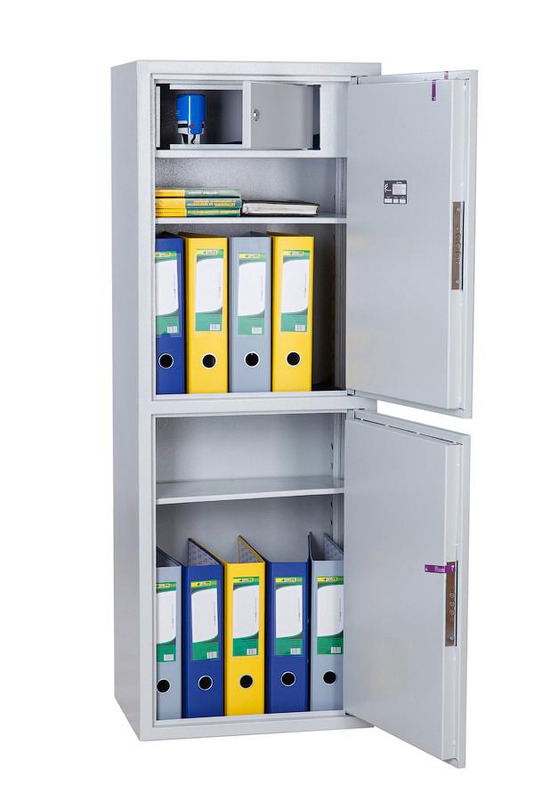 Шкаф сейф Ferocon БЛ-127К2.Т1.П2.7035, 460х1275х340, 40 кг