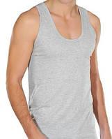 Мужская майка StillMax Турция, хлопок размер XL(50-52) серая