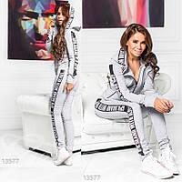 Женский Спортивный костюм G 13577  Серый, фото 1