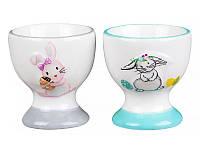 """Набор подставок под яйца  """"Кролики"""" 6 см Lefard  ed940-148"""