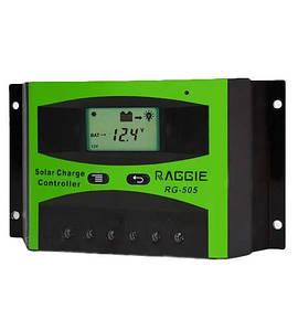 Контроллер для солнечных установок RG-505, 30A