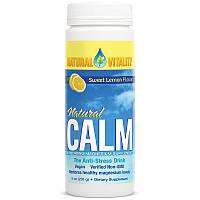 Natural Calm, с натуральным сладким лимонным вкусом, 8 унций (226 г)