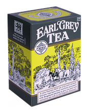 EARL GREY BLACK TEA Черный чай Эрл Грей с ароматом бергамота 200 гр.