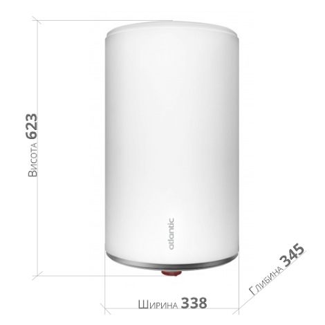 Бойлер Atlantic Slim PC 30