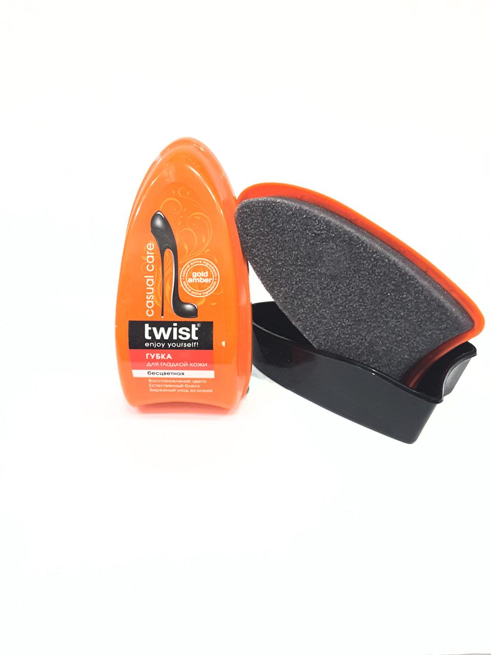 Губка для гладкой кожи TWIST casual care бесцветная
