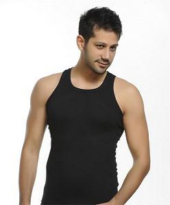 Мужская майка StillMax Турция, хлопок размер XL(50-52) чёрная