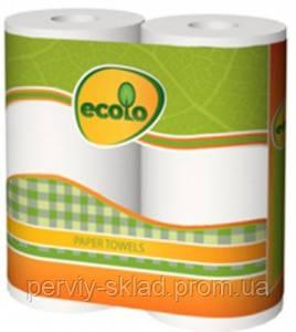 Бумажные полотенца Ecolo 2 шт