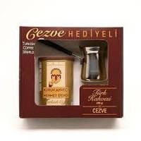Подарочный набор кофе Kurukahveci Mehmet efendi 250gr + турка