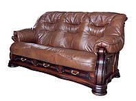 """Комплект мягкой мебели """" Bordeaux """" (Бордо)  Диван (с французкой раскладушкой) и кресло , искусственная кожа"""