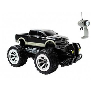 Автомобиль радиоуправляемый - DODGE RAM (черный, 1:18)