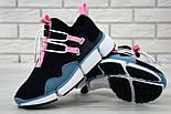 """Чоловічі кросівки Nike Pocket Knife DM """"Black/Pink/Blue"""". Живе фото. Топ репліка ААА+, фото 3"""