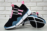 "Мужские кроссовки Nike Pocket Knife DM ""Black/Pink/Blue"". Живое фото. Топ реплика ААА+, фото 3"