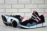 """Чоловічі кросівки Nike Pocket Knife DM """"Black/Pink/Blue"""". Живе фото. Топ репліка ААА+, фото 7"""