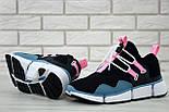 "Мужские кроссовки Nike Pocket Knife DM ""Black/Pink/Blue"". Живое фото. Топ реплика ААА+, фото 7"