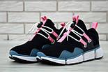 """Чоловічі кросівки Nike Pocket Knife DM """"Black/Pink/Blue"""". Живе фото. Топ репліка ААА+, фото 8"""
