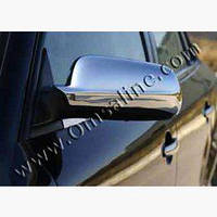 Накладки на зеркала (нерж.) Audi A6 C4 1994-1997 гг