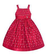 Очень красивое и пышное платье с красными блестками (Размер 3Т) American Princess (США)