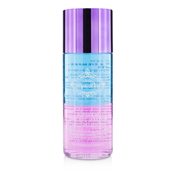 Ottie Средство для снятия макияжа Purple Dew Superior Lip & Eye Make-Up Mild Remover