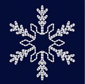 Снежинка светодиодная SL019